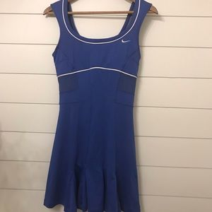 Nike Royal Blue Tennis Dress